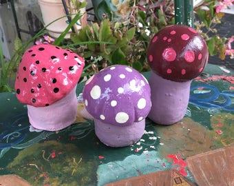 Magic Mushrooms (Set of 3)