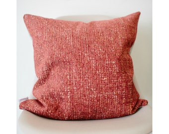 "20"" x 20"" Pink/Orange Throw Pillow Cover - COVER ONLY"