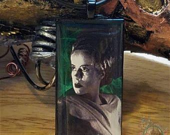 Bride of Frankenstein Horror Movie Pendant Necklace ON SALE NOW