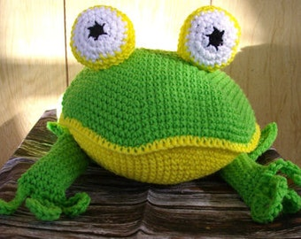 Mr. Puddles Pillow Crochet Pattern - INSTANT DOWNLOAD
