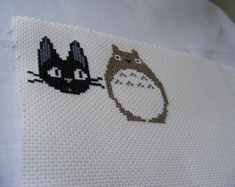 Miyazaki Cross Stitch Patterns