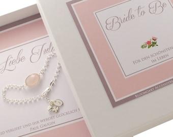 Bridal jewelry 925 Silver wedding bracelet bride