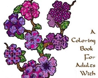 Zen Nature - A Zentangle-Inspired Adult Coloring Book