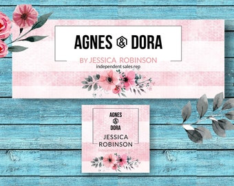 Agnes And Dora Facebook Set * Facebook Cover * Facebook Banner * Facebook Group * Facebook Photo Images * A&D FB Cover -ADSP01