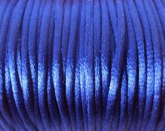 1 M x 2mm Royal Blue Nylon Rat tail