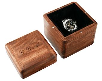 Walnut Watch Box | Etsy