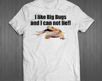 Big Bugs Bearded Dragon T-Shirt