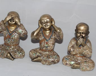 See no Evil, Hear no Evil, Speak no Evil monks