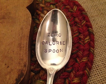 Vintage Silver Spoon, Vintage Spoon, Stamped Vintage Spoon, Stamped Spoon, Hostess Gift, Christmas Gift, Best Friend Gift