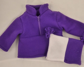 18 Inch Doll Jacket and Hat Set