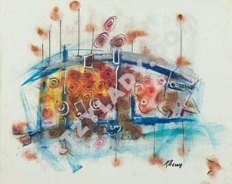 Marina - Abstract Art