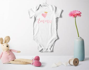 Personalized Bodysuit (girl)