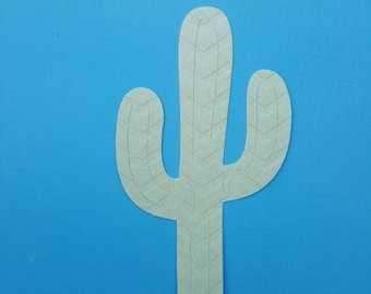 10 PAPER CACTUSES