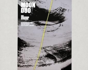 Moon Duo concert poster