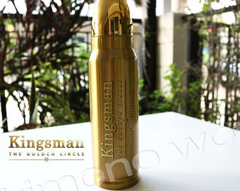 Bottles Licensed Kingsman II THE GOLDEN Circle Tie in New Out Of Print 09