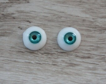 Sale, eyes have mistakes! Hand Made Polymer UV resin eyes, 12 mm.