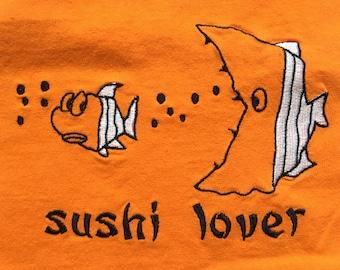 Sushi shirt-Japanese cuisine-foodie