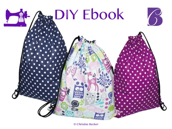 PDF Ebook Tutorial and Pattern Gym Sack