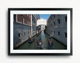 Venice Canal near Piazza San Marco