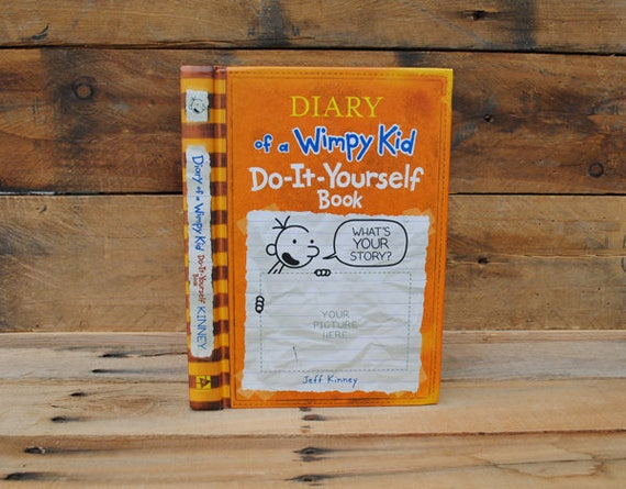 Hollow book safe the wimpy kid do it yourself orange hollow book safe the wimpy kid do it yourself orange book solutioingenieria Image collections