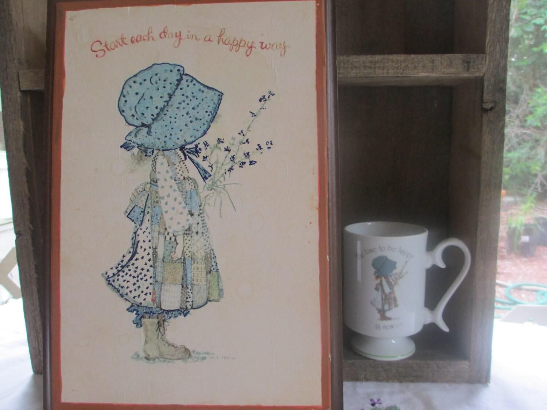 Holly hobbie wall art holly hobbie porcelain mug start each description holly hobbie reviewsmspy