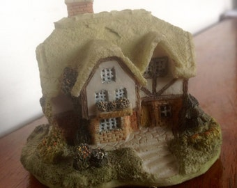 Vintage Ceramic Thatched Cottage by Academy.