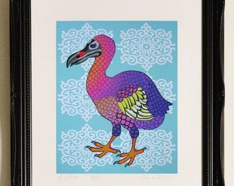 "Dodo Giclee Print 11"" by 14"" Unframed"