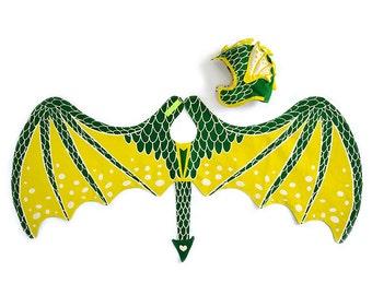 Dragon Wings Green Dragon Dress Up Wings Fairy Tale