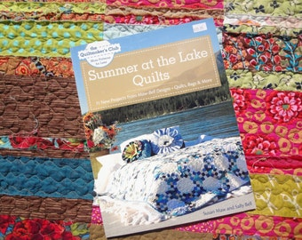 Summer at the Lake Quilts by Susan Maw and Sally Bell / The Quiltmaker's Club / More Patterns for Less