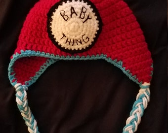 Baby Thing Hat, 9-12 Month Size, Thing 1 + Thing 2 style