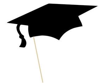 Photo Booth Prop - Graduation Cap - Birthdays, Graduations, Parties, Weddings - Photobooth Props