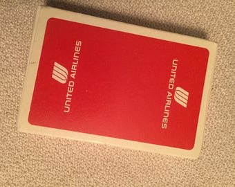 United Airlines Vintage Playing Cards