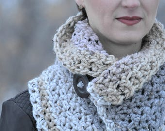Charlotte Cowl Crochet Pattern