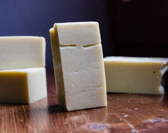 Facial soap with avocado butter and shea butter