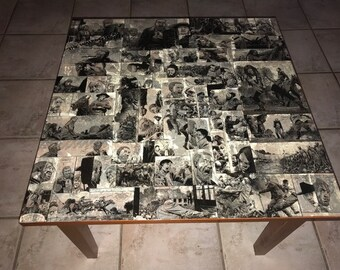 The Walking Dead end table