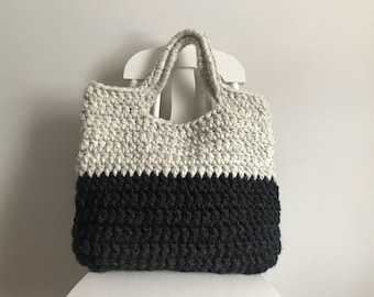 Two Toned Market Bag