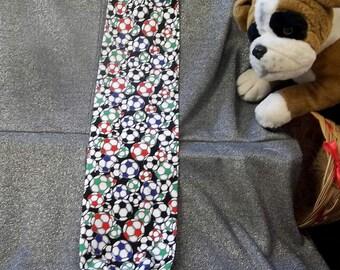 Plastic Bag Holder Sock, Soccer Balls Print