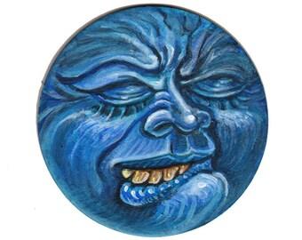Blue Grimace