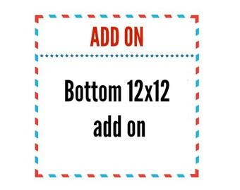 Bottom of box 12x12 custom add on