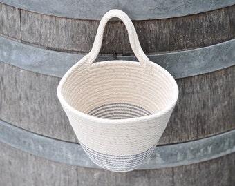 Cenote - hanging rope basket