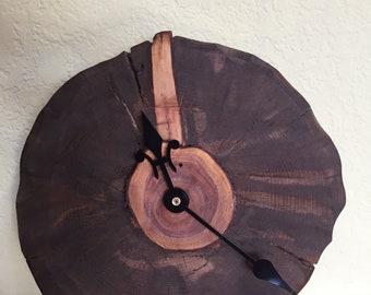 Clock....Colorado pine brought back to life as a beautiful clock.