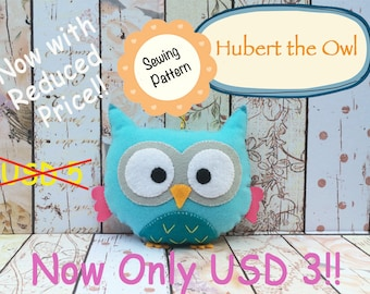 Digital Pattern: Hubert the Owl