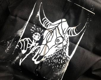"Mini Tapestry/Flag/Bandana ""Sweet Creature"""