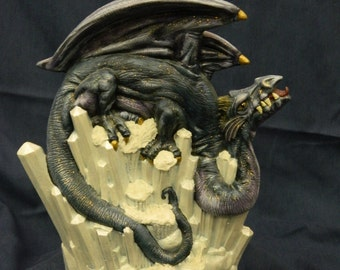 Ice Dragon statue