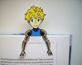One punch man Genos bookmark