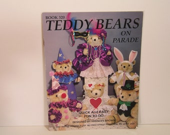 Teddy Bears On Parade Pattern Book