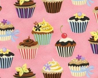 Sweet Tooth Cupcakes Fat Quarter Fabric Set