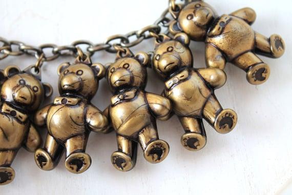 Necklace  9 Little bears kawaii  original choker cute harajuku