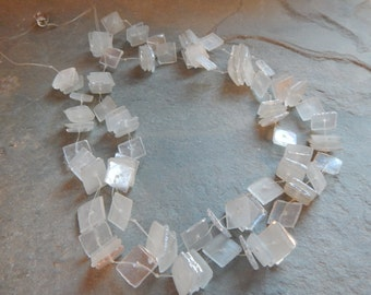 Manouk Glass Tile Necklace, iridescent glass tiles, iridescent necklace, vintage necklace, 80's jewelry, illusion necklace, glass necklace