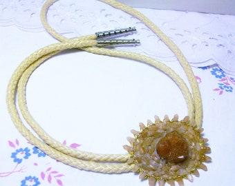 Pecos Diamond Bolo Tie Circa 1990